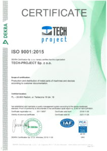 2018_TECH-PROJECT_cert 9001 2015-2